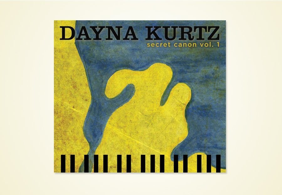 Dayna Kurtz Secret Canon Vol 1 album package