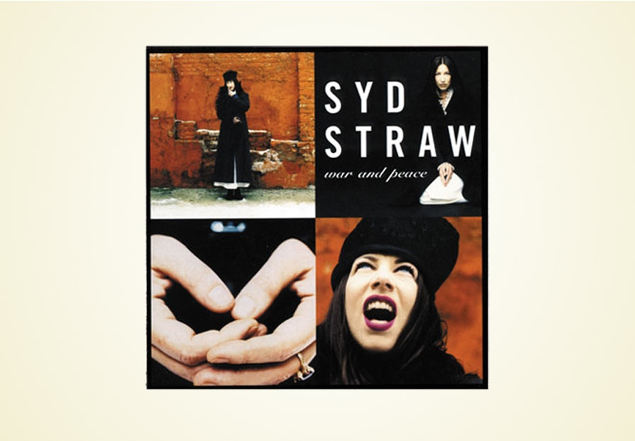 Syd Straw War and Peace album package